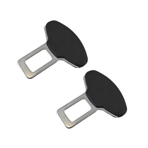 2 Stück Gurtadapter Gurtschloss Auto Gurt Alarm Stopper Dummy Anschnallwarner