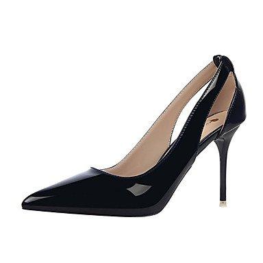 Moda Donna Sandali Sexy donna tacchi tacchi estate pu Casual Stiletto Heel altri nero / viola / rosso / bianco / argento / grigio altri Black