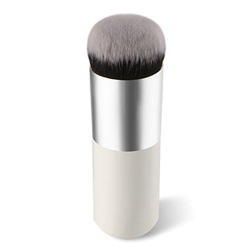 Vi.yo Pinceau de Maquillage Pinceau Pinceau de Maquillage Professionnel pour Visage (Poignée de Brosse en Bois Court)