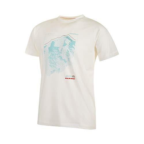Mammut Herren Mountain T-Shirt, Bright White PRT2, XL