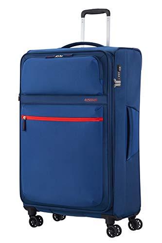 American Tourister Matchup Koffer, 80 cm, 115 Liter, Neon Blue