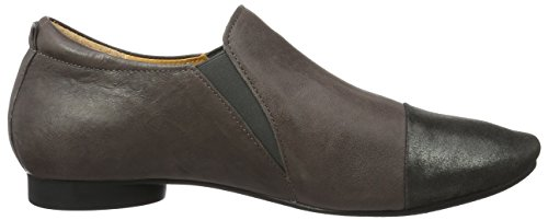 Think! Damen Guad Slipper Braun (stone/kombi 46)
