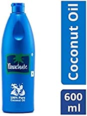 Parachute Pure Coconut Oil Bottle, 500ml