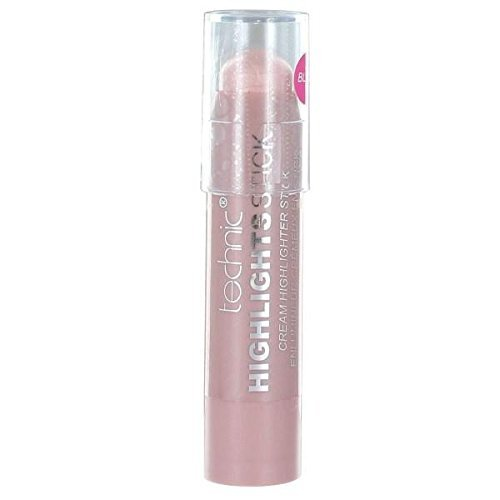 Sheer Eye Shimmer (Technic Highlights Stick Cream Highlighter 7.3g-Blush by Technic)