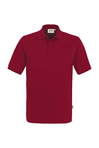"HAKRO Polo-Shirt \""Performance\"" - 816 - weinrot - Größe: S"