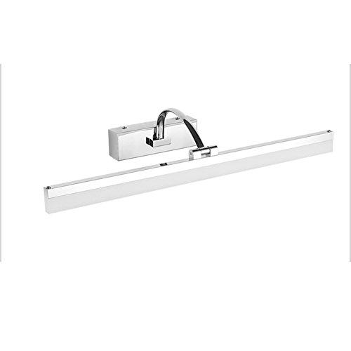 XUERUI Lampe De LED, 9W-16W Chauffent Les Lumières Blanches De Salle De Bains, Conducteur D'EMC, 40-70CM X 7CM X 4.5cm, Énergie Savin (Couleur : Blanc, taille : 40 cm)