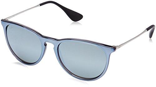 Ray-Ban RAYBAN Unisex-Erwachsene Sonnenbrille 4171, Mirror Flash Grey/Greenmirrorsilver, 54