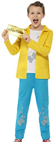 Bucket Charlie Kostüm - erdbeerloft - Jungen Roald Dahl Charlie Bucket Kostüm, 146, Gelb