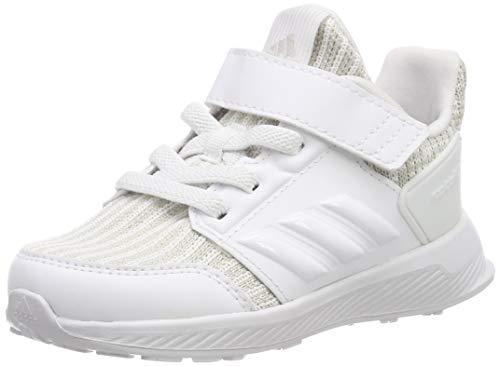 adidas Unisex Baby RapidaRun Knit Sneaker Grau Gretwo Ftwwht, 21 EU
