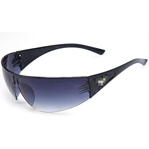 GZQUANEU 2 Teile/LOS Tragbare Schutzbrille Winddichte Reitbrille UV-Schutz Graue Linse (Color : 3, UnitCount : 2PCS)