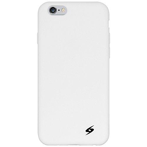Amzer Coque en silicone souple Coupe Jelly Coque pour Apple iPhone 6Plus-Noir