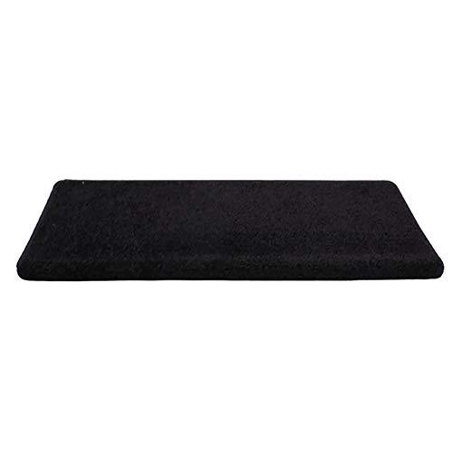 Teppiche, Treppenteppich Rutschfeste Selbstklebende Matten, Rechteckig Treppenmatte Schwarz, 1 Stück, 5 Stück, 10 Stück - Kann Angepasst Werden (Farbe : 5 Pieces, größe : 24x75x3cm) -
