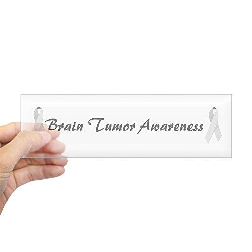 CafePress Brain Tumor Bewusstsein Bumper Aufkleber–25,4x 7,6cm Rechteck Bumper Aufkleber Auto Aufkleber Standard Farblos (Gedenkstätten Perfekte)