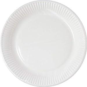 Procos Partyware- Platos, Color blanco (96773)