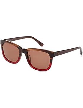 Lacoste Gafas de Sol L814S (54 mm) Marrón / Rojo