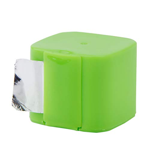 JOYKK Mini Rollos De Papel De Aluminio para Cigarrillos Peluquería Manicura BBQ Inofensivo - Colorea al Azar