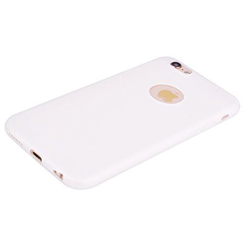 Apple iPhone 6 Hülle, Voguecase [Shockproof] [Fallschutz] Rüstung Schutz Etui Soft TPU Silikon Stoßfeste Protective Cover Case für Apple iPhone 6/6S 4.7(Dunkelblau) + Gratis Universal Eingabestift Weiß