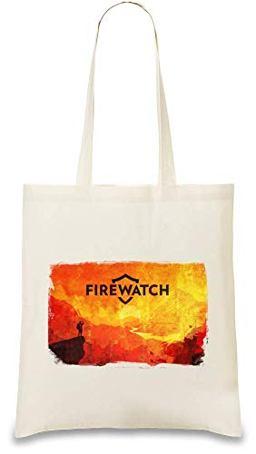 Style Matters Rote Feuerwache - Red Firewatch Custom Printed Tote Bag| 100% Soft Cotton| Natural Color & Eco-Friendly| Unique, Re-Usable & Stylish Handbag For Every Day Use| Custom Shoulder Bags By