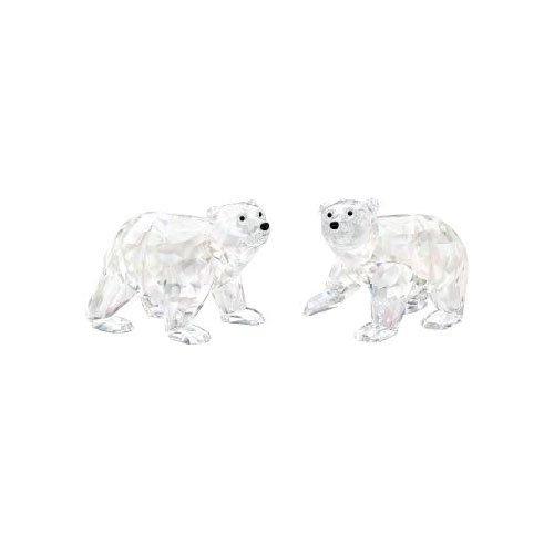 Swarovski Kristallfiguren Junge Eisbaeren,Cry Moonlight 1079156