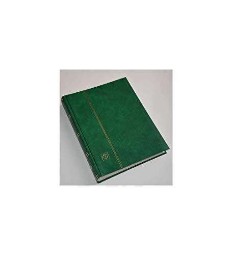 Goldhahn Leuchtturm 60 weiße Seiten grün Einsteckbuch Einsteckalbum Briefmarkenalbum Briefmarken für Sammler