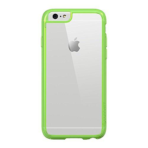 iPhone 6S Schutzhülle, luvvitt [Clearview] iPhone 6Schutzhülle [Hybrid klare Sicht Armor Serie] [Crystal Clear] Bumper Case mit Clear Rückwand–Retail Verpackung–Bumper Schutzhülle für iPhone 6– Clear / Neon Green