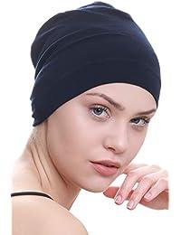 2e973b2a600 Deresina Cottone   Bamboo Bonnet de Nuit Pour Perte De Chimio