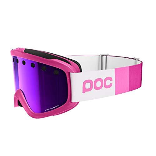 POC Skibrille Iris Stripes, Ethylene Pink, Regular