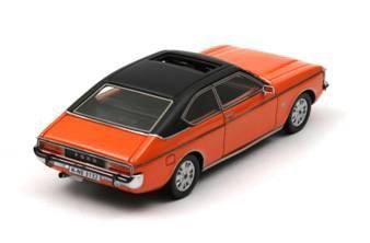 Ford Granada Mk.1 Coupe Arancione 72 (1/43 NEO43132) (Giappone import / Il pacchetto e il manuale sono scritte in giapponese)