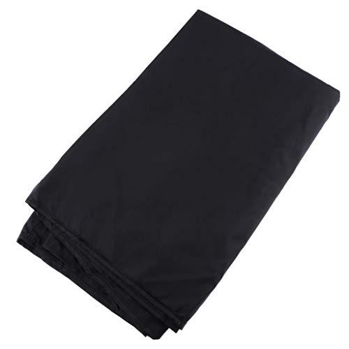 perfk Drum Dust Cover Abdeckung für Schlagzeug, 79 x 98 Zoll Wasserabweisender Staubschutz mit Gewichteten Ecken