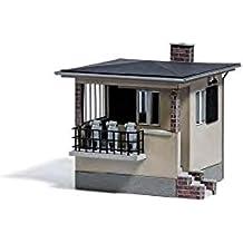 Busch 1461 Railroad Crossing Controller's Hut Kit