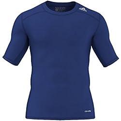 adidas TF Base SS Camiseta, Hombre, Azul - (Reauni), M