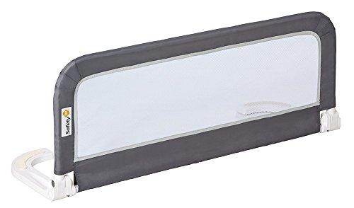 Safety 1st Barrera de cama portátil, Niños, Gris (Dark Grey)