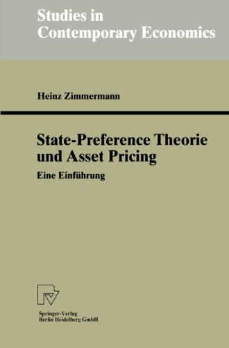 state-preference-theorie-und-asset-pricing-eine-einfuhrung-studies-in-contemporary-economics