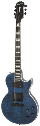 Epiphone Prophecy Les Paul Custom Plus EX Outfit (EMG 81/85), Midnight Sapphire