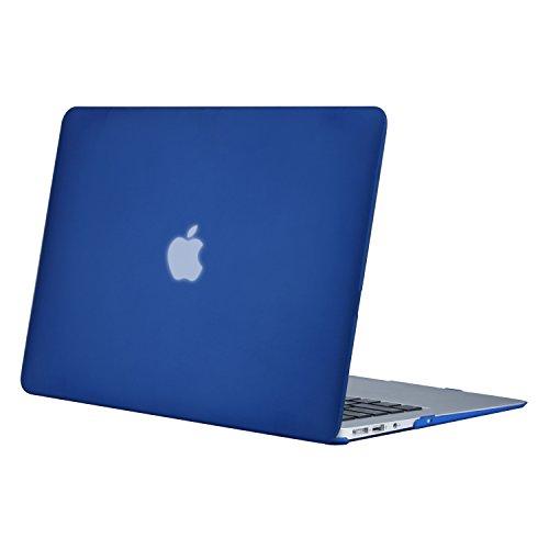 MOSISO MacBook Air 13 Hülle - Ultra Slim Hochwertige Plastik Hartschale Tasche Schutzhülle Snap Case für MacBook Air 13 Zoll (A1466 / A1369), Blau (Macbook Air Case Blau)
