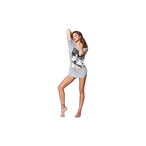JADEA - Chemise de nuit - Femme Gris