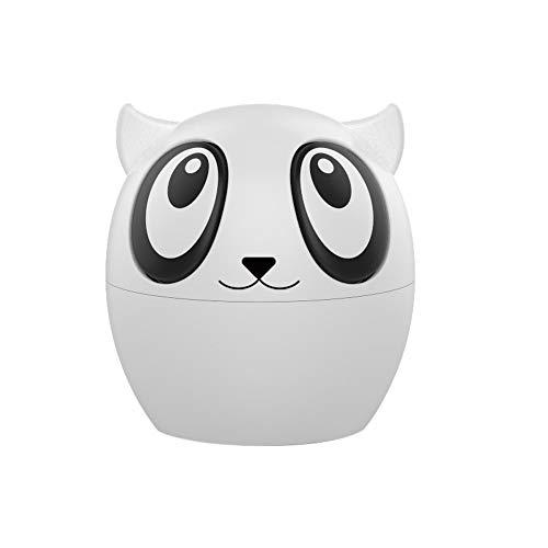 Fulltime E-Gadget Bluetooth Headset, Mini-Zwillinge Wireless Panda Bluetooth True Stereo-Akku-Lautsprecher für iPhone Android Samsung iPad Huawei HTC (Weiß)