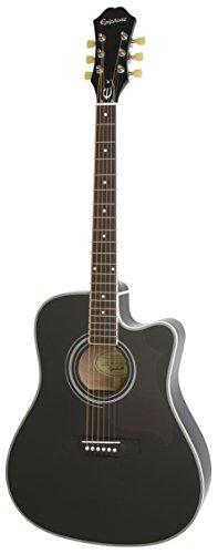 Epiphone FT-350SCE Ac/El - Guitarras electroacústicas, color antique natural