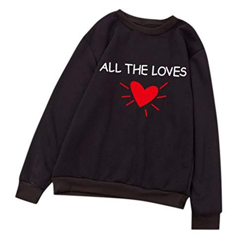 Innerternet Unisex Langarm O-Neck Bluse Brief Sweatshirt Top T-Shirt Lange Ärmel Pullover Jumper Streetwear Mit Kapuze Lose Sweatshirts Top Kapuzenpullover -