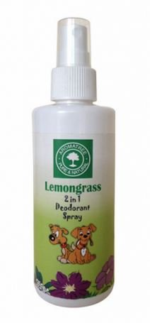AromaTree 2 in 1 Lemon Grass Deodorant Spray, 200 ml