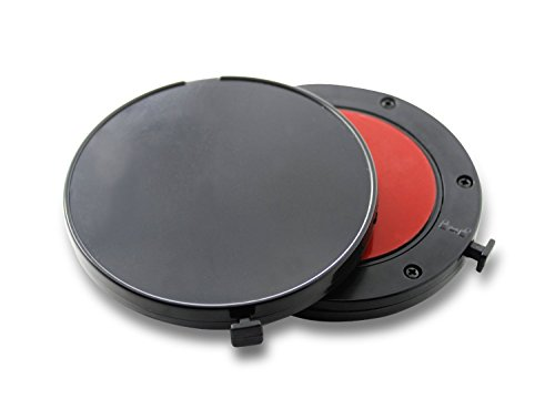 Imoove 3M - Disco adesivo per collegare al cruscotto navigatori satellitari TomTom, Garmin, Navigon, Takara, Mio, Medion e di altre marche