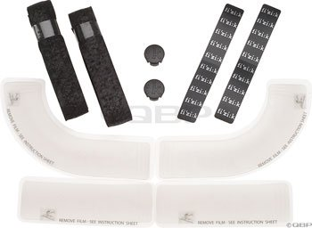 Fizik Bar Gel Perforated Microtex with Four Pieces (Black) -