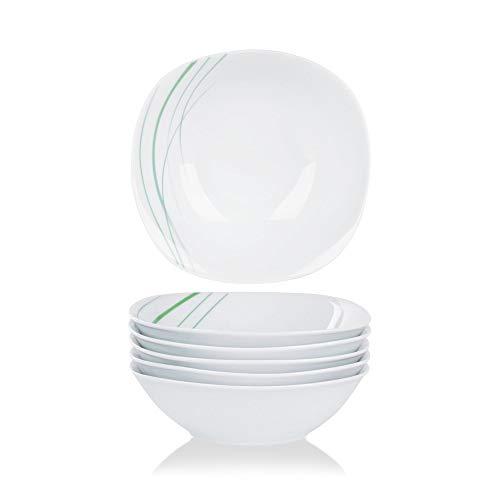 VEWEET, série Aviva, 6 Bols de céréals, saladiers, en Porcelaine
