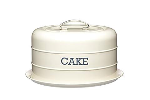 KitchenCraft Living Nostalgia Airtight Cake Storage Tin / Cake Dome,