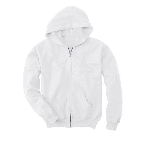 Hanes Comfortblend® EcoSmart® Kids` Full-Zip Hoodie Sweatshirt