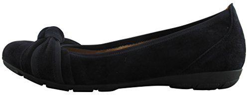 Gabor Shoes Fashion 34.162 Chaussures femme, Ballerines Cuir pazifik