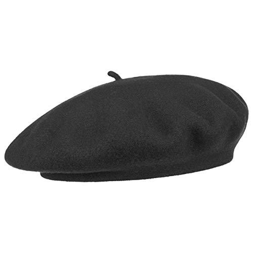 95a7a03f Laulhere Paris Beret Women´s Basque (One Size - Black)
