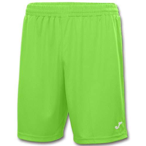 Joma Nobel Pantalon equipaciones, Hombre, Verde Fluor, S