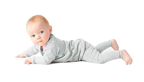 Merino Kids Langarm Pyjama-Set für Kinder 2-3 Jahre, Turtletaube