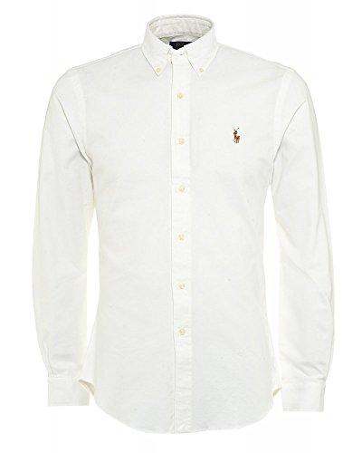 Polo Ralph Lauren Herren Freizeithemd A04WSLBLCMTBD Weiß (BSR White A1790) Medium